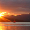 Sailing Sunset--Taken at Kawanhee Inn, Webb Lake, Weld, ME in July 2007.