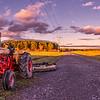 Autumn Fields Panorama, Westbrook, Maine