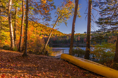 Autumn Pond in Roxbury, Maine