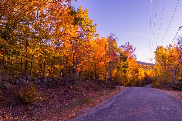 Somewhere in Western Maine