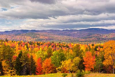 Autumnal Hills, Bethel, Maine