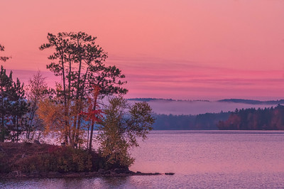 Moose Pond Sunrise, Bridgton, Maine