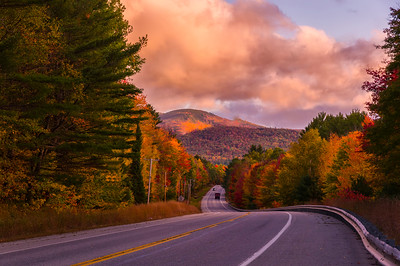 Foliage Just Outside Bethel, Maine after Dawn