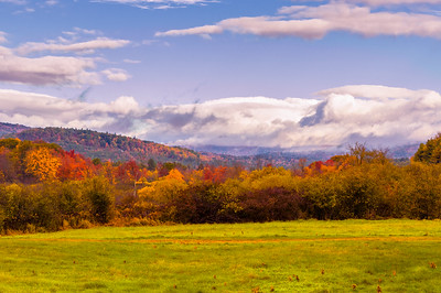 Autumn Mountain View 2, Route 26, Western Maine