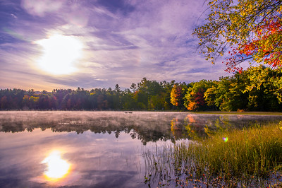 Long Pond, North Livermore, Maine