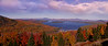Height of Land Autumn Panorama, Rangeley,. Maine