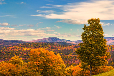 Oxford, Maine in Autumn
