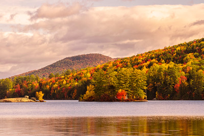 North Lake in Autumn, near Bethel, Maine