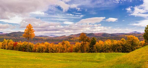 Oxford, Maine Vista Panorama