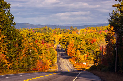 Route 26 View, Poland, Maine