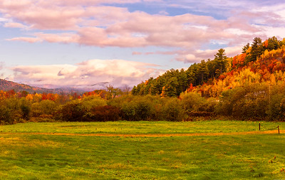 Route 26 Misty Mountains Panorama 2, Western Maine