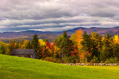 Autumnal Vista, Bethel, Maine