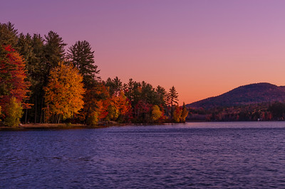 North Lake at Dawn, near Bethel, Maine