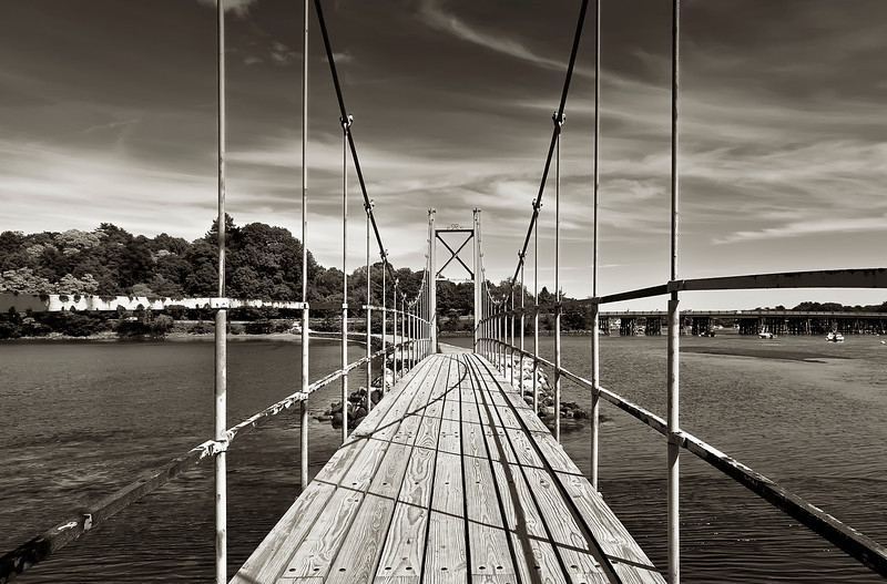 The Wiggly Bridge, York, Maine