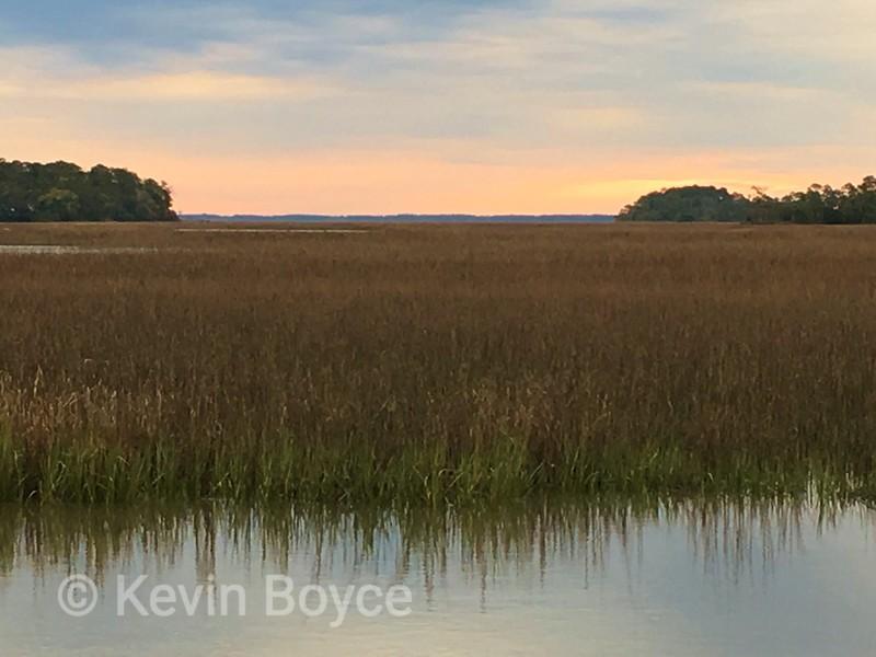 Salt Marsh Reflection