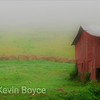 Hay Bales & Barn, Smoky Mountains