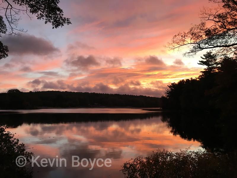Sunrise Houghton's Pond