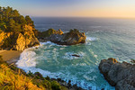 """McWay Falls at Sunset"""