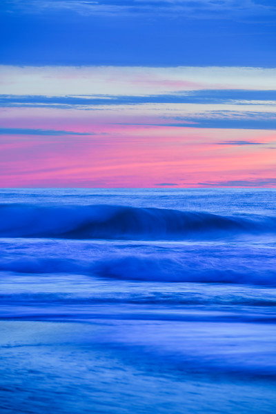 """Waves at Sunset"" Garrapata State Park, Big Sur, California"