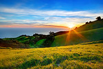 """Spring Sunset in the Marin Headlands"""