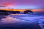 """""""Daybreak at Natural Bridges""""  Natural Bridges State Park, Santa Cruz, California"""