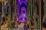 """St. Stephen's Cathedral in Vienna Interior"""