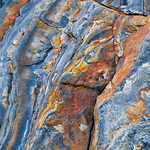 Rock Textures in Point Lobos #1.  Point Lobos is one of my favorite places to shoot.  One of my favorite things to shoot is abstracts of rocks in nature.  There is an infinite amount of color and textures that can be found.  This grouping of pebbles with their vibrant colors just seemed simple yet beautiful.  The Rock Textures in Point Lobos series was created for the Rok Bistro Hot Rock and Fondue restaurant where I have a long term solo exhibit.  Seeing THIS image on canvas is what pushed me to purchase the gigantic printer and start doing more work on canvas.  The image is vibrant and stunning - jumping off the canvas!