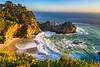 McWay-Falls-Waterfall-California-Julia-Pfeiffer-Burns_State-Park-Northern-California-Coastline-Tranquil-Peaceful-D818823-Healthcare-Fine-Art-artwork-Clinics