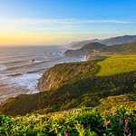 Along the Northern California Coast Panorama 1:2 Ratio