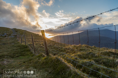 Sunset on the Conor Pass