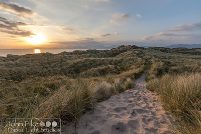 Strand Beach at sunset, near Killarney