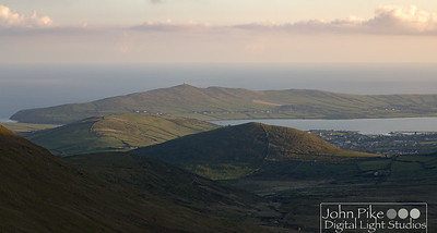 Dingle, from the top of the Conor Pass