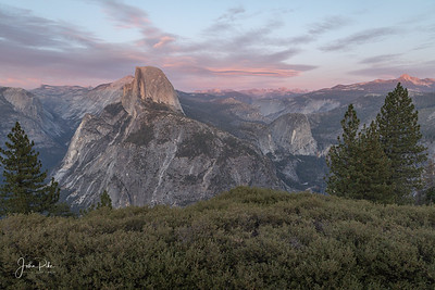 Half Dome at Sunset, Glacier Point