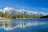 Lake Johnson,<br /> Banff National Park, Alberta, Canada