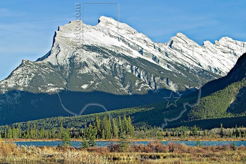 Mount Rundle,<br /> Banff National Park, Alberta, Canada