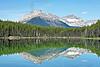 Herbert Lake, Mount Bowsorth,<br /> Banff National Park, Alberta, Canada