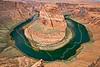 Horseshoe Bend in Colorado River,<br /> near Page, Arizona