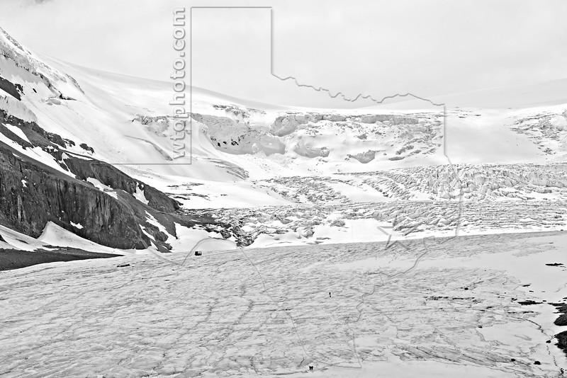 Athabasca Glacier and Columbia Icefield,<br /> Jasper National Park, Alberta, Canada
