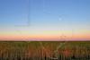 Anti-Twilight Arch at Sunrise,<br /> Anahuac National Wildlife Refuge, Texas