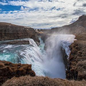 Gullfoff Waterfall, Iceland 2016