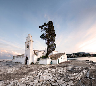 small greek church