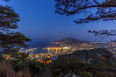 the city of zante island