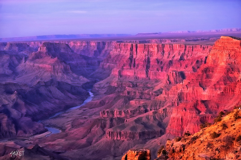 Grand Canyon Tower Sunset
