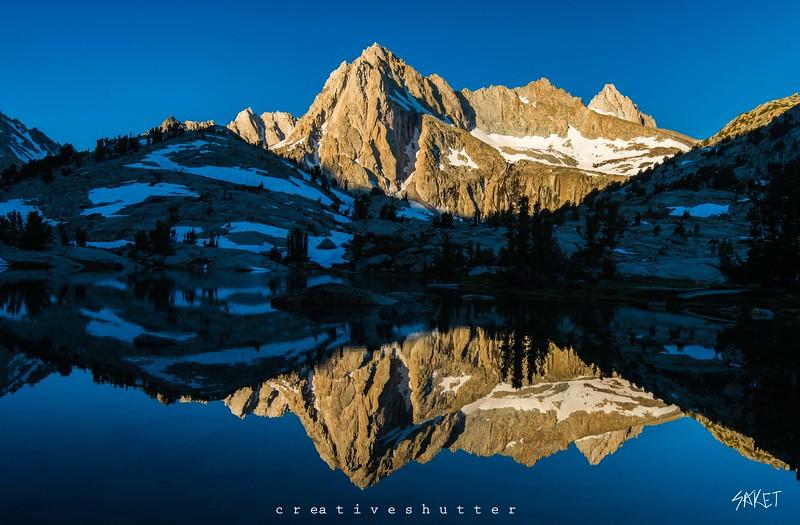 Picturesque peak