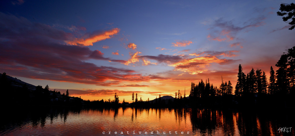 Cathedral Lake Sunset