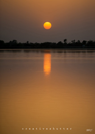Chandlai Lake Sunset