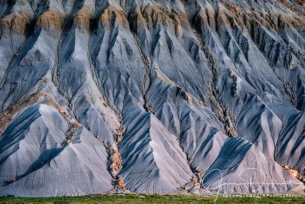 Mesa Erosion in the Utah Desert