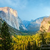 Yosemite's Tunnel View in Late Evening Light