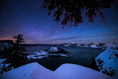 Stary Night - Crater Lake
