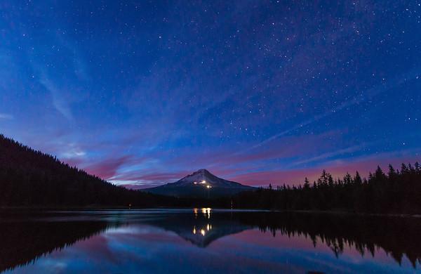 Trillium Lake Dawn